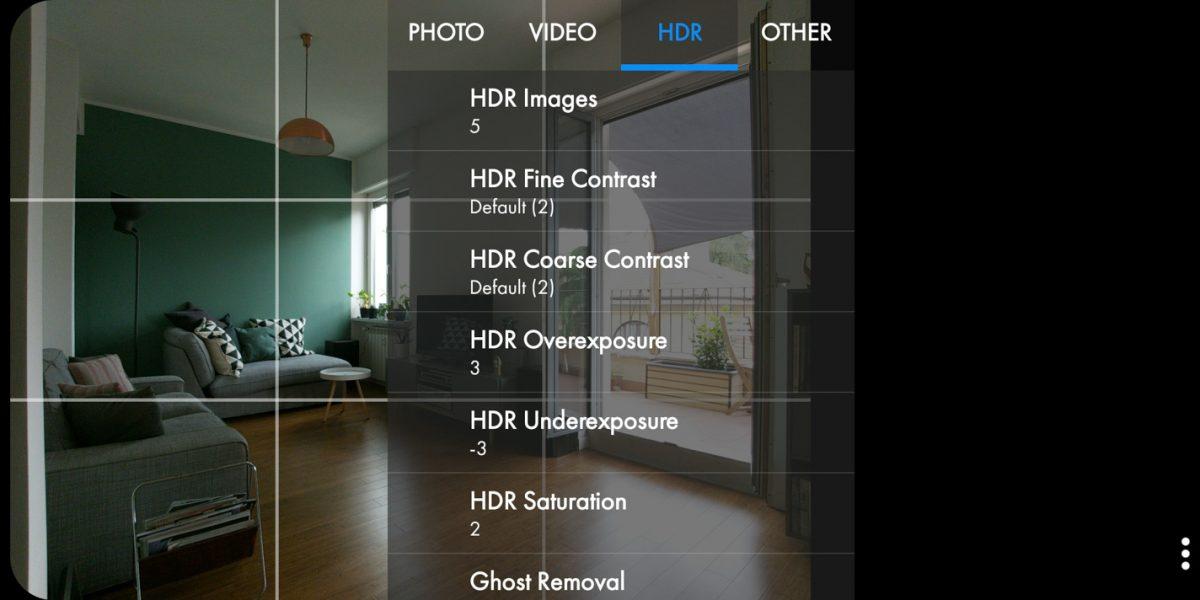 Le impostazioni in Snap Camera